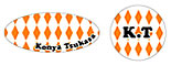 オレンジ(楕円形)